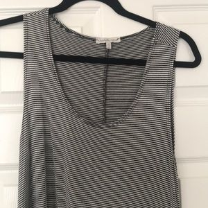 Charlotte Russe Dresses - Black and white striped dress